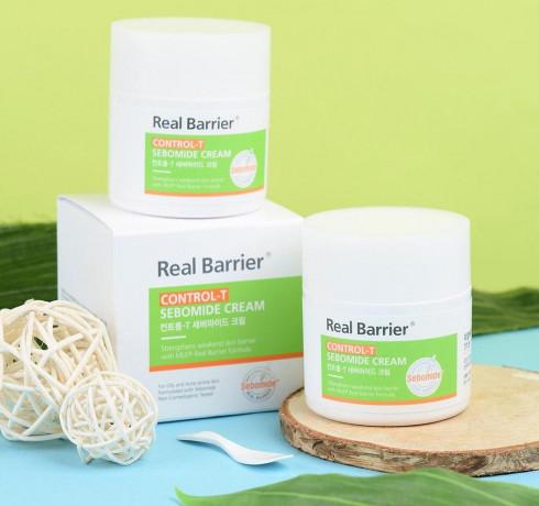 Себорегулирующий крем Real Barrier Control-T Sebomide Cream