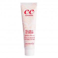 Крем СС для лица Secret Key Telling U CC Cream SPF50/PA+++