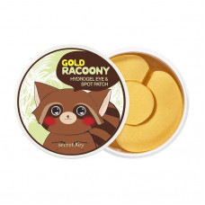 Гидрогелевые патчи Secret Key Gold Racoony Hydrogel Eye & Spot Patch