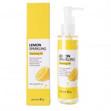 Гидрофильное масло с экстрактом лимона Secret Key Lemon Sparkling Cleansing Oil