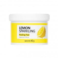 Пилинг-салфетки с экстрактом лимона Secret Key Lemon Sparkling Peeling Pad