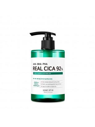 Многофункциональный гель против акне с кислотами и центеллой Some By Mi AHA BHA PHA Real Cica 92% Cool Calming Soothing Gel