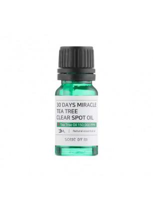 Масло для лица с экстрактом чайного дерева для точечного применения Some By Mi 30 Days Miracle Tea Tree Clear Spot Oil