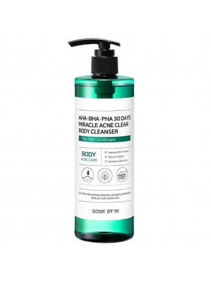 Гель для душа для проблемной кожи тела Some By Mi AHA-BHA-PHA 30 Days Miracle Acne Clear Body Cleanser