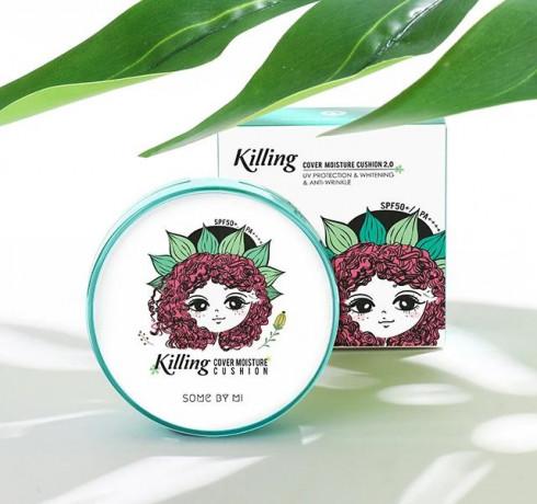 Кушон для чувствительной и проблемной кожи Some By Mi Killing Cover Moisture Cushion 2.0