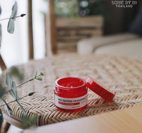 Успокаивающий крем с красным чайным деревом Some By Mi Red Tea Tree Cicassoside Final Solution Cream