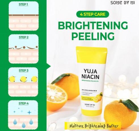 Осветляющий пилинг-гель с экстрактом юдзу Some By Mi Yuja Niacin Brightening Peeling Gel