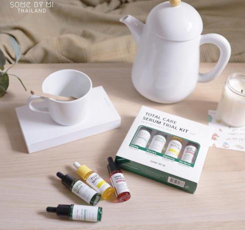 Набор миниатюр сывороток Some by Mi Total Care Serum Trial Kit