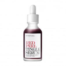 Кислотная сыворотка с тингл-эффектом So'Natural Red Peel Tingle Serum