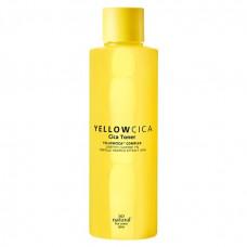 Тонер для проблемной кожи лица с центеллой азиатской So Natural Yellow Cica Toner