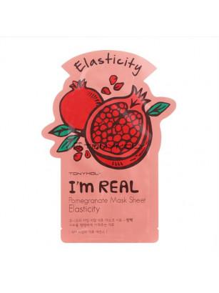 Тканевая маска Tony Moly I`m REAL Pomegranate Mask Sheet Elasticity