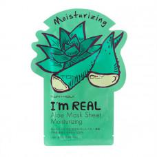 Тканевая маска Tony Moly I`m REAL Aloe Mask Sheet Moisturizing