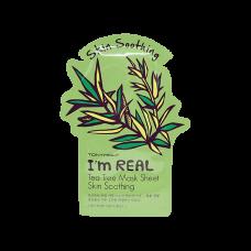 Тканевая маска Tony Moly I`m REAL Tea Tree Mask Sheet Skin Soothing