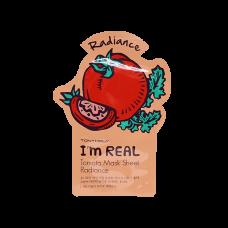 Тканевая маска Tony Moly I`m REAL Tomato Mask Sheet Radiance